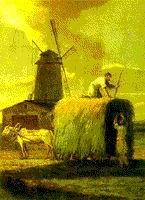 М. Н. Воробьев (1787-1855). Уборка сена - кликните по картинке!